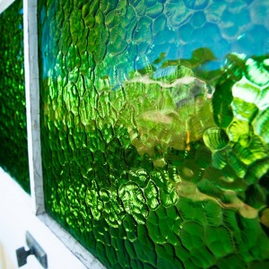 Slow architecture recycled glass | PTMA Architecture