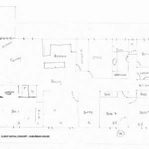 Central QLD farm house plan | PTMA Architecture